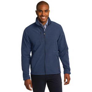 Eddie Bauer® Shaded Crosshatch Soft Shell Jacket