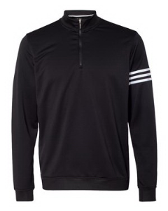 Adidas 3-Stripes French Terry Quarter-Zip Pullover