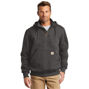 Carhartt® Rain Defender® Paxton Heavyweight Hooded Zip Mock Sweatshirt